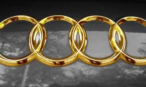 Midascustom We Provide Jewellery For Your Car Too Like This 24ct Gold Embellished Audi Emblem