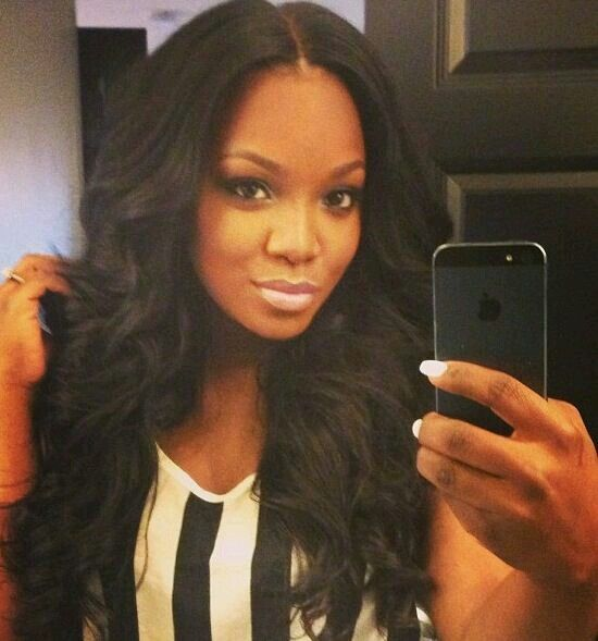 Middle Part Sew In W Lace Closure Hair Hair Styles Natural Hair Styles