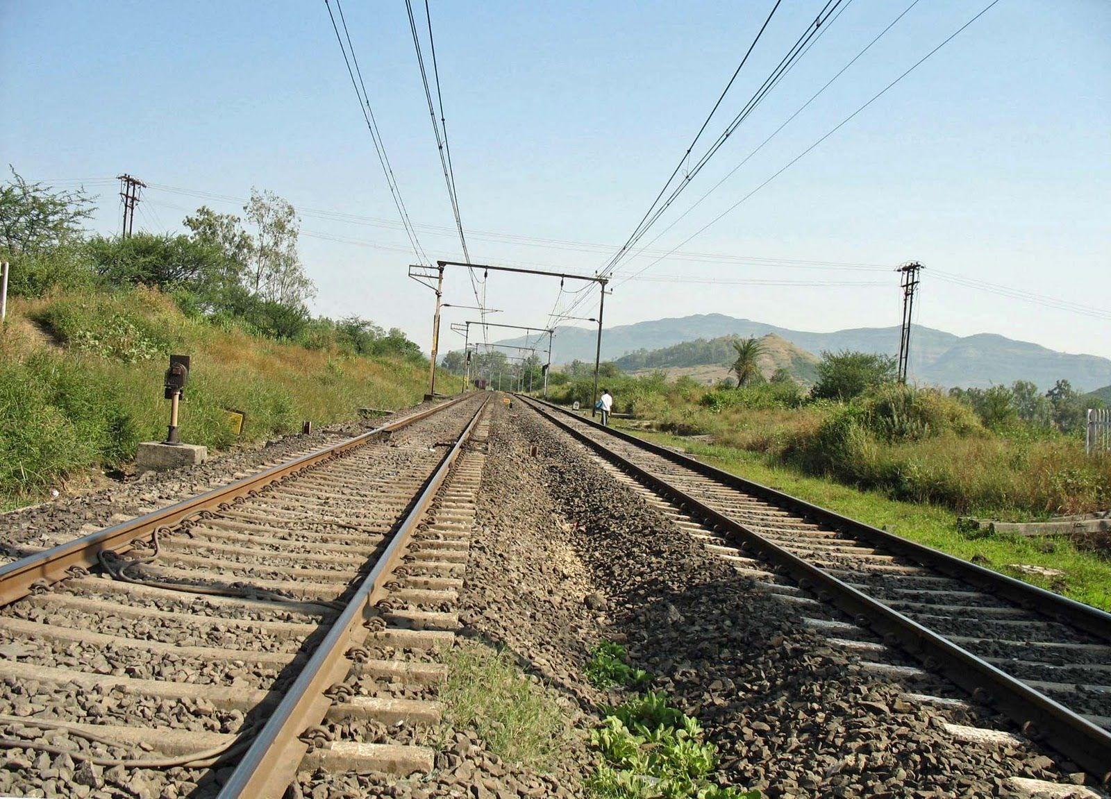 Tracks Indian railways, Railroad tracks, Track