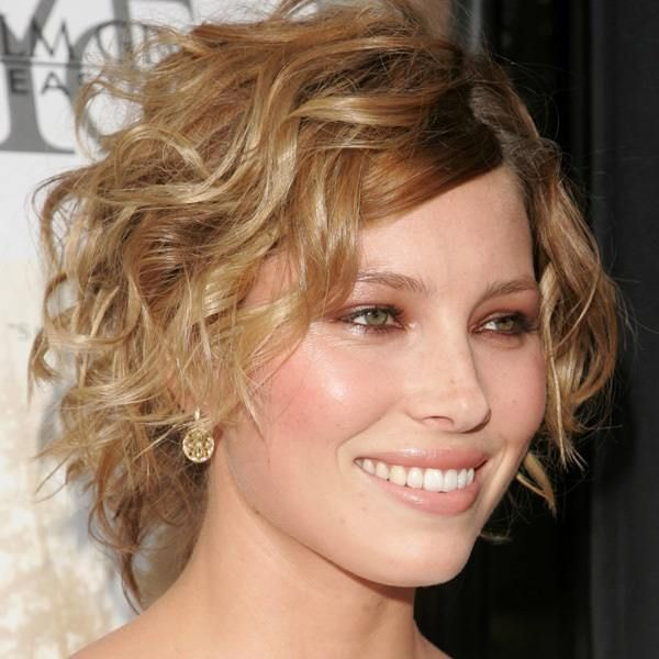 Lovely Short Curly Wedge Haircut About Rustic Article Harvardsol