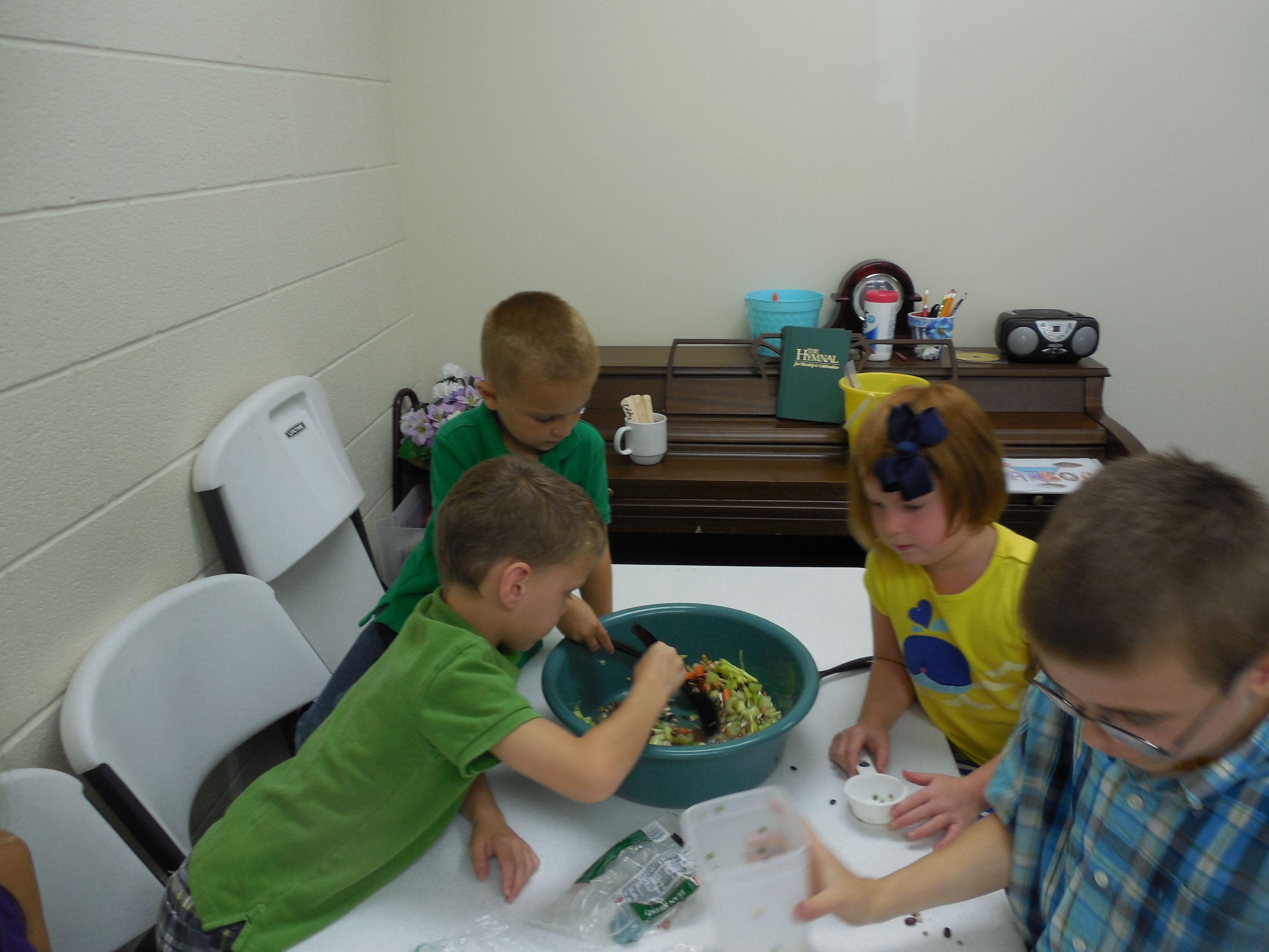 Jacob And Esau Making A Stew