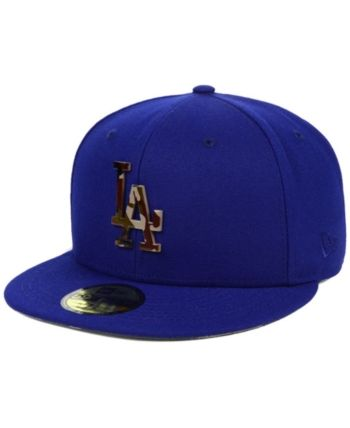 8c0cfed7198 New Era Los Angeles Dodgers Camo Capped 59FIFTY-fitted Cap - Blue 8 ...