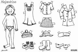 Resultado De Imagen Para Prendas De Vestir Para Ninos Para Recortar Paper Dolls Teaching Outfits Activities For Kids