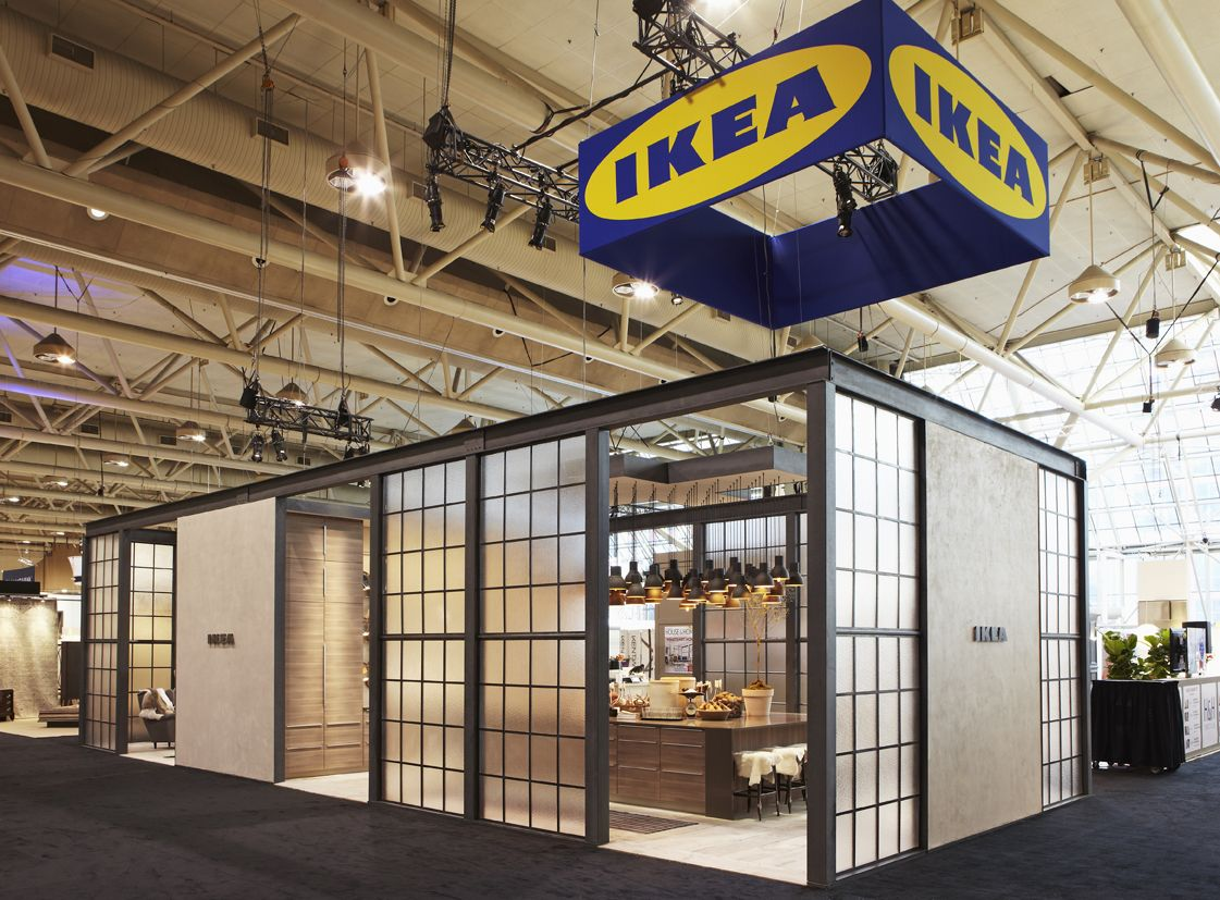 Ikea Canada Kitchen Design Show Ikea Pop Up Event Pinterest Trade Fair