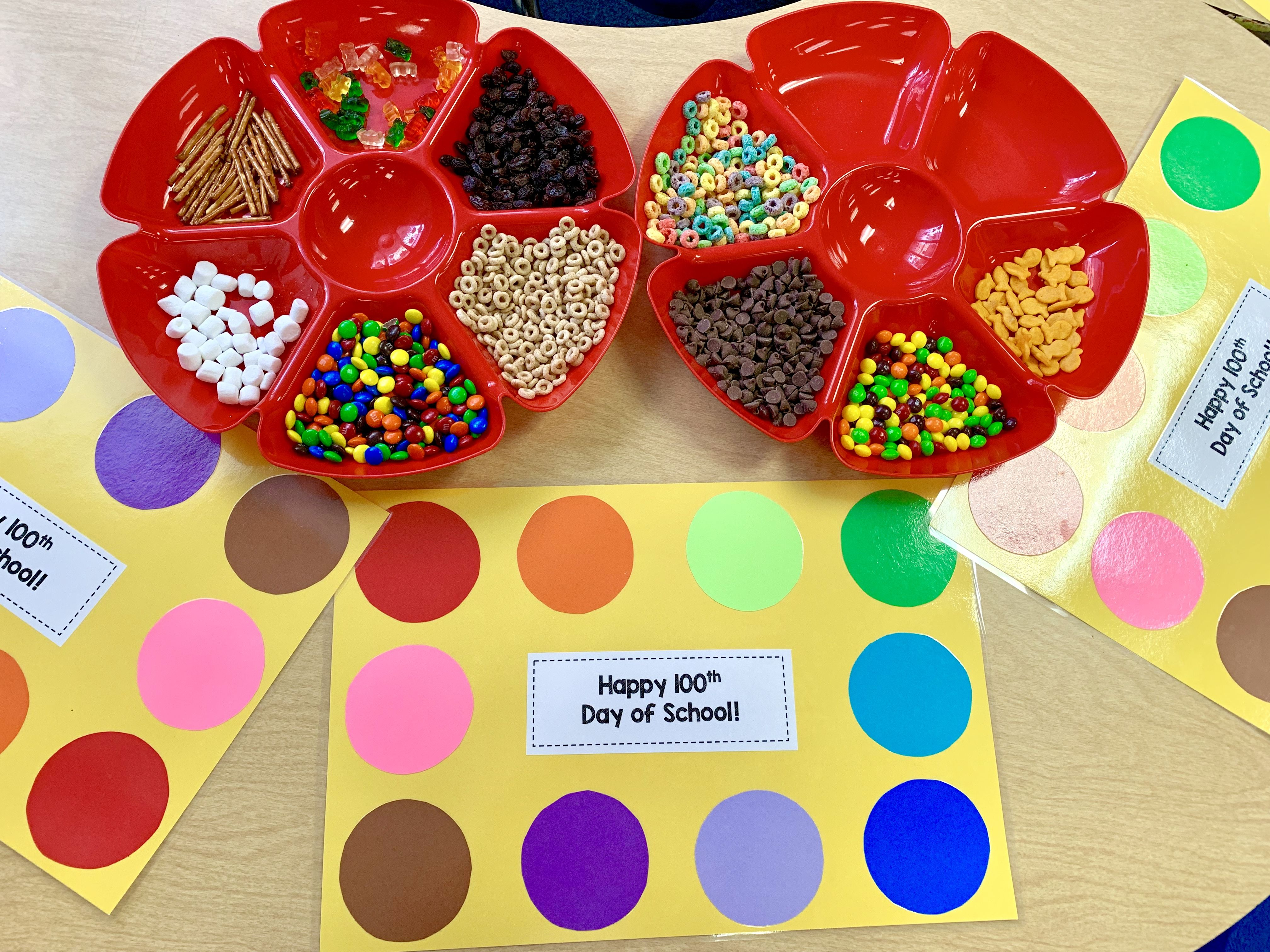100th Day Of School Snack Mix