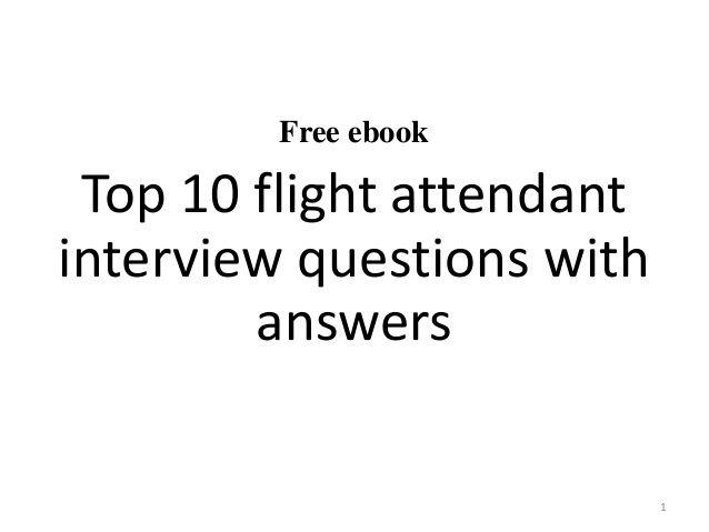 interview questions for flight attendants  buy cabin crew