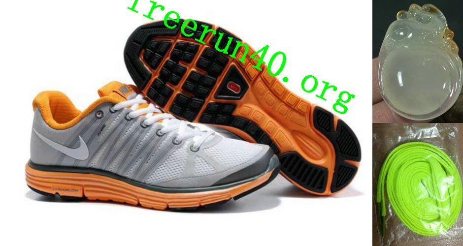 Cheap Nike Free US Size for Sale Womens Nike LunarElite+ 2 White Gray Orange  [nike free for sale -