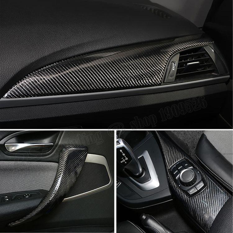F20 F21 F22 F23 F45 F46 Carbon Fiber Interior Trimming Door Handle