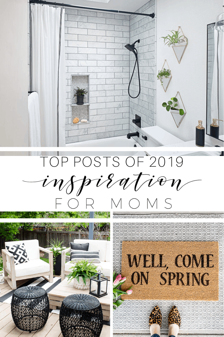 I'm sharing the top posts of 2019. Did your favorite make the list? See all of my top ten posts that were your favorites throughout the year. #TopPosts #TopDIYs #HomeDecorIdeas