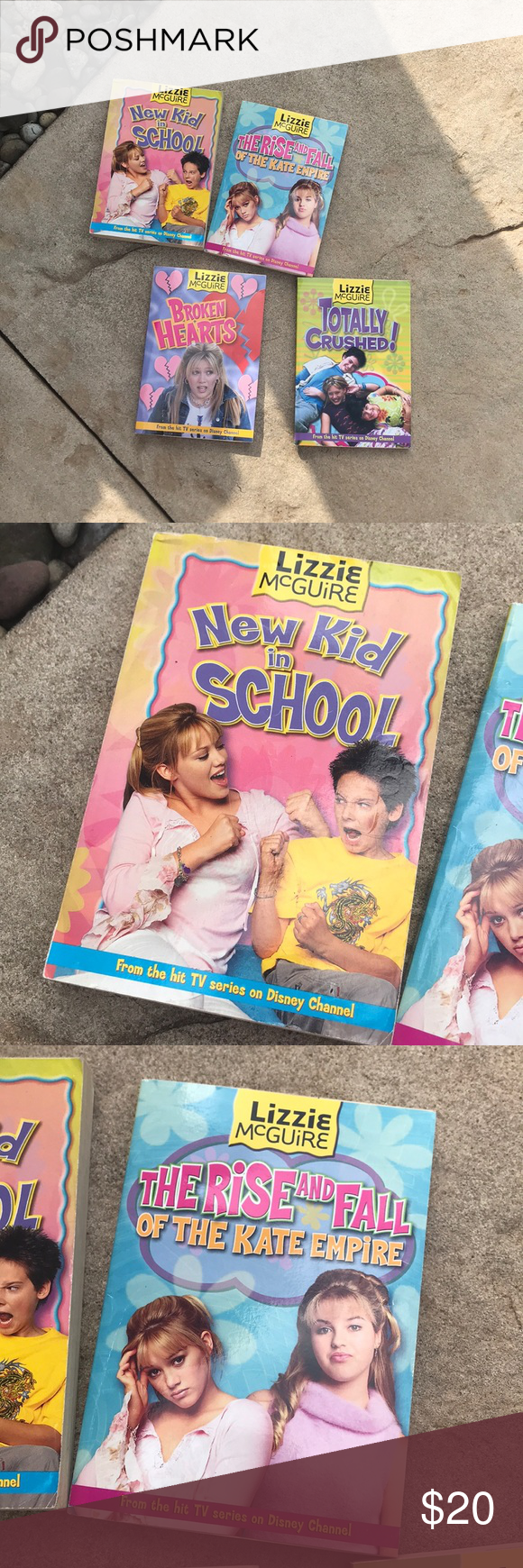 Lizzie McGuire bundle of books Bundle of books Disney Other #lizziemcguire Lizzie McGuire bundle of books Bundle of books Disney Other #lizziemcguire