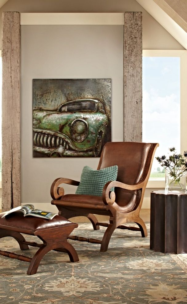 augusto chair and ottoman teak ottomans and colorful living rooms