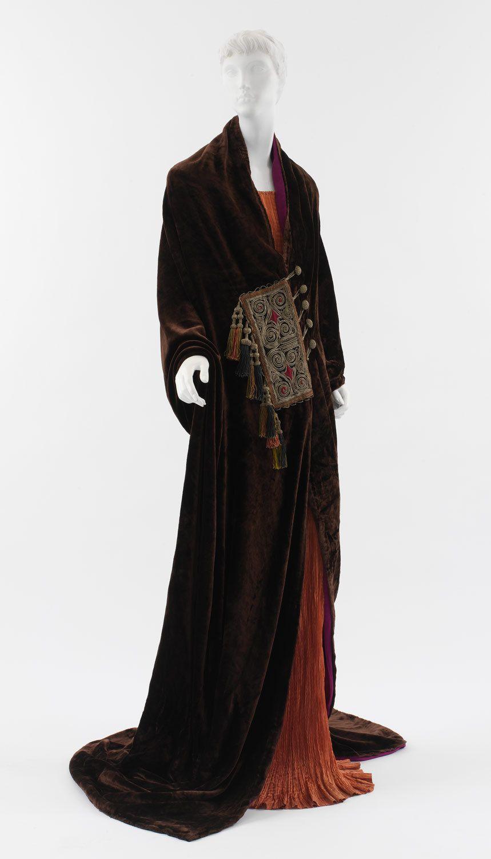 """history-of-fashion: """" 1919 The """"Paris"""" coat by Paul Poiret (The Metropolitan Museum of Art0 """""""