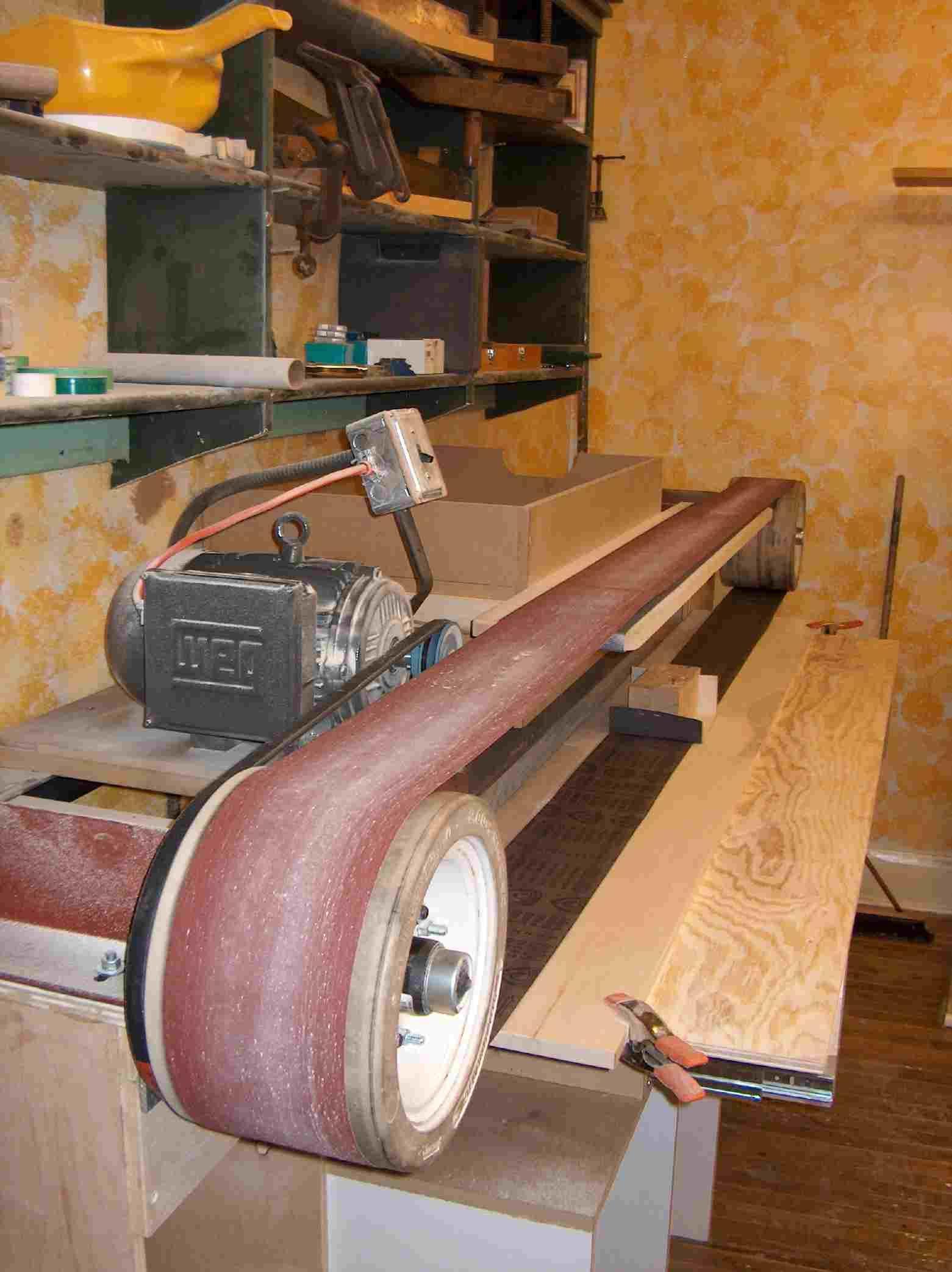 Custom Stroke Sander Antique Woodworking Tools Wood Crafting