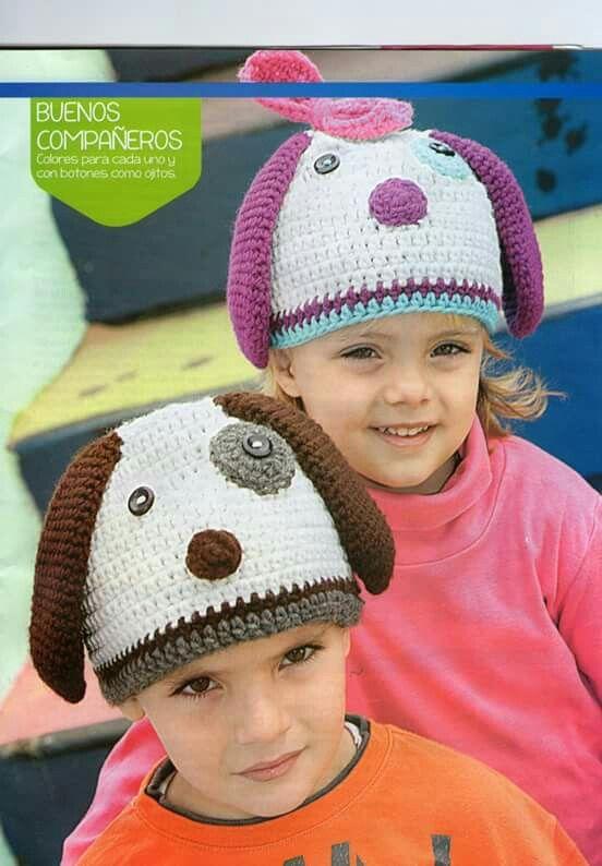 11 Crochet Gorros para Niños  1802025b99c