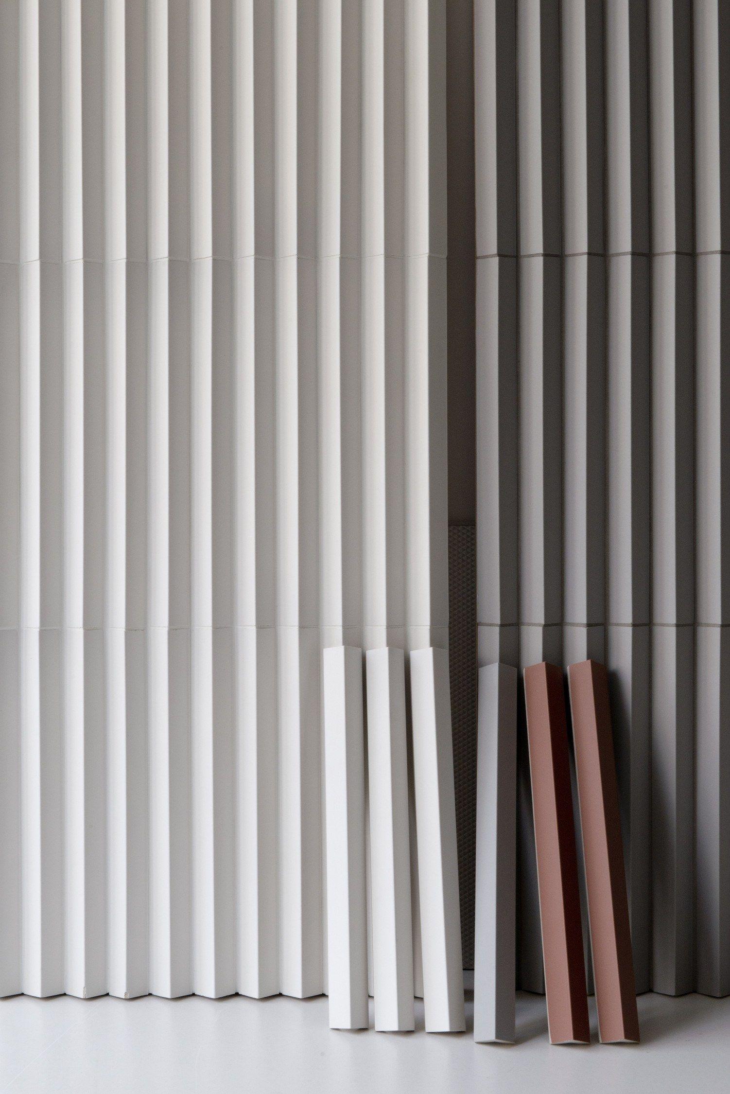 Ronan & Erwan Bouroullec rombini triangle white by mutina design ronan & erwan
