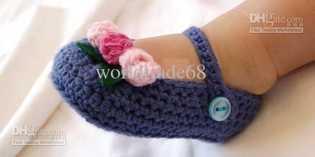 wholesale walker shoes buy crochet baby girl first walker shoes
