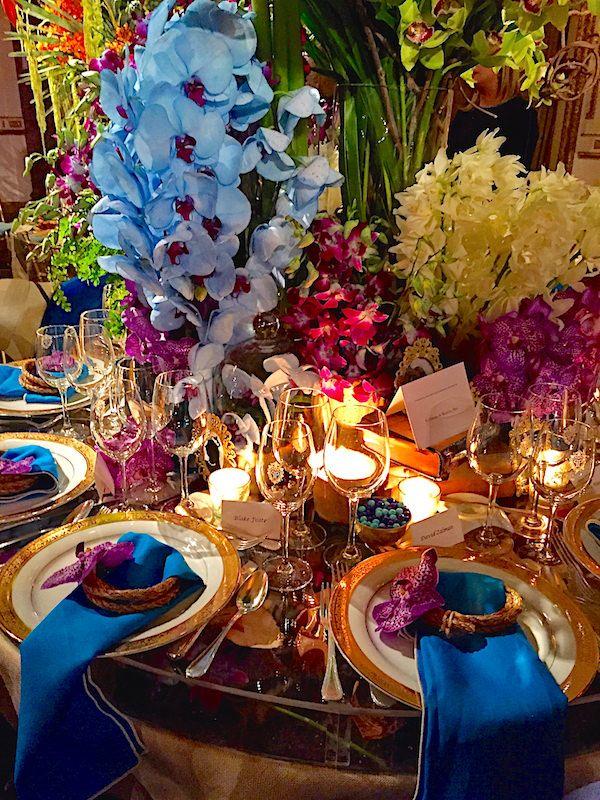 The New York Botanical Garden Orchid Dinner #botanicgarden