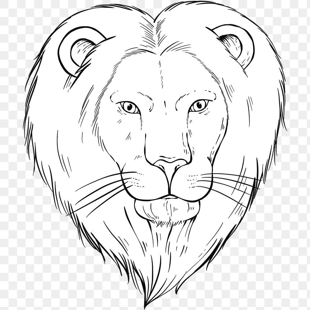 Png Vintage Lion Black And White Clipart Free Image By Rawpixel Com Noon Free Clip Art Clip Art Animal Illustration