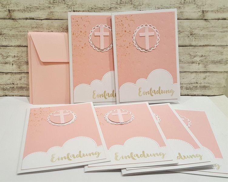 Einladungskarten   Einladung Taufe Taufeinladungen 6   Ein Designerstück  Von POMMPLA Bei DaWanda
