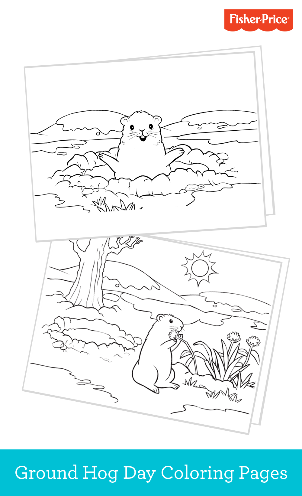 Check Out These Adorable Free Printables For Ground Hog Day Fun Find Even More At Fisher Price Com Cool Coloring Pages Coloring Pages For Kids Coloring Pages [ 1640 x 1000 Pixel ]