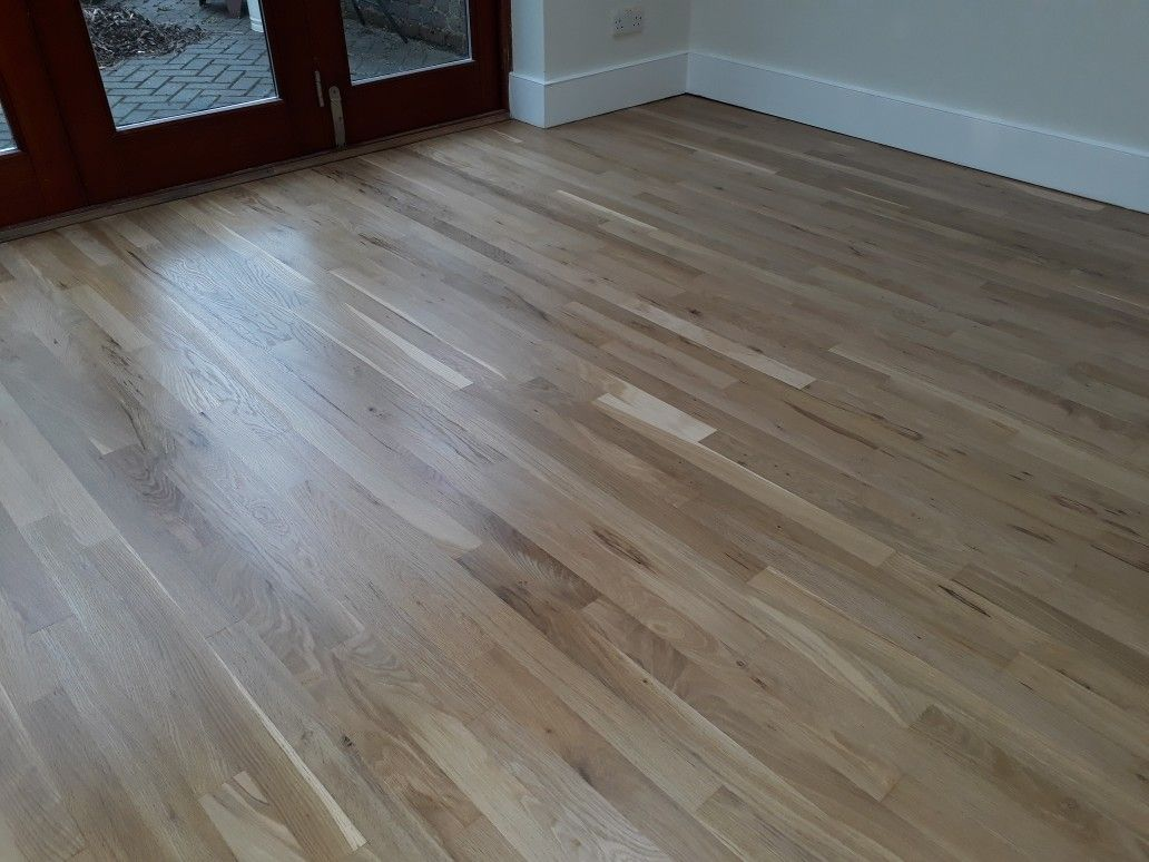 Oak Floor Re Sanded And Vanished With Matt Lacquer Flooring