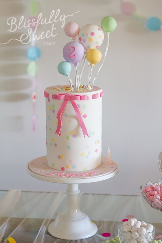 Pretty Birthday Cake Birthdays Pinterest Pretty birthday cakes