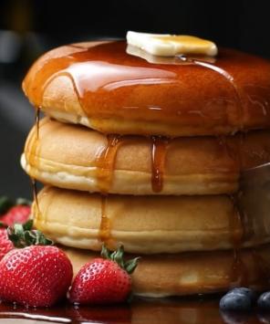 Fluffy Pancakes Recipe by Tasty
