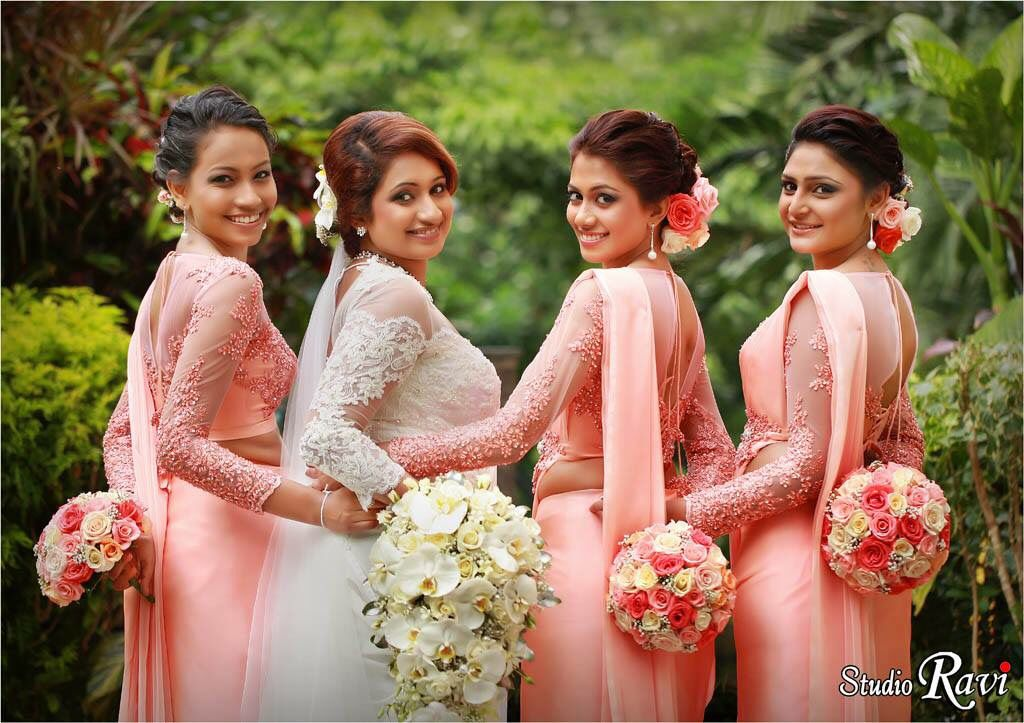 Sari Bridesmaids Dresses