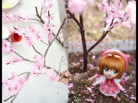 Diy How To Make Miniature Cherry Blossom Tree Youtube Cherry Blossom Origami Cherry Blossom Flowers Cherry Blossom Tree