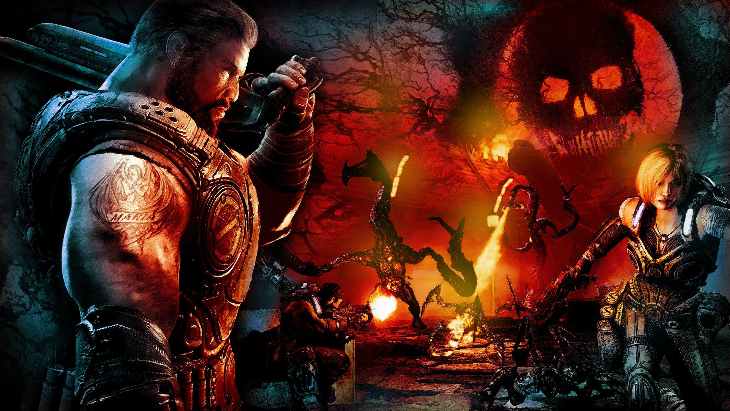 Gears Of War Wallpaper 640x960 3 Backgrounds 38 Wallpapers