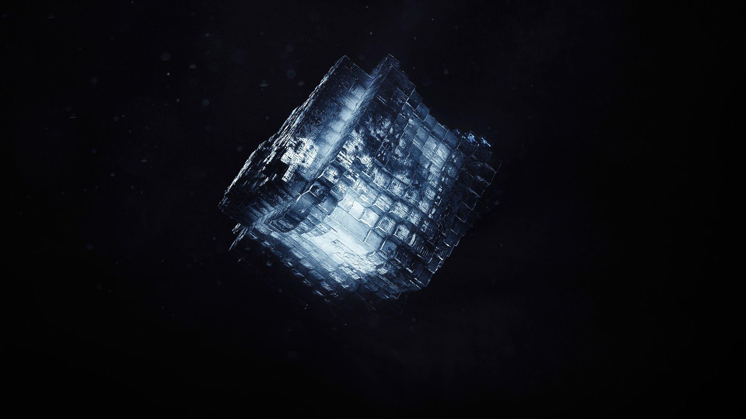 render shape cube dark cgi | pinterest | cube, cgi and hd wallpaper