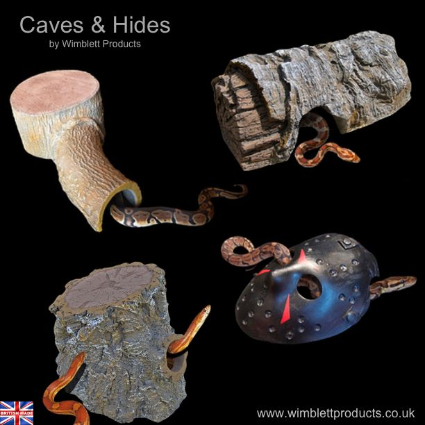 Handmade Snake Caves Hides At Fantastic Prices Check Out Our Online Shops For Lots Of Unique Reptile Products In Our Web Reptile Decor Pet Store Pet Snake