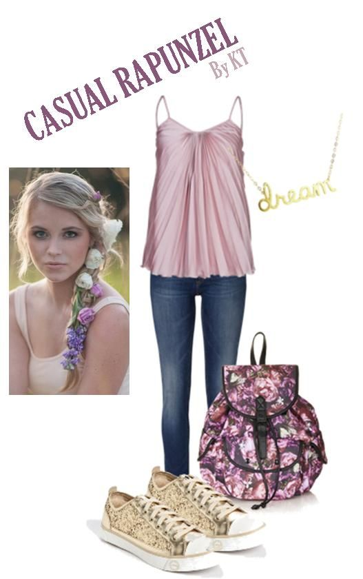 rapunzel casual outfit  disney inspired outfits