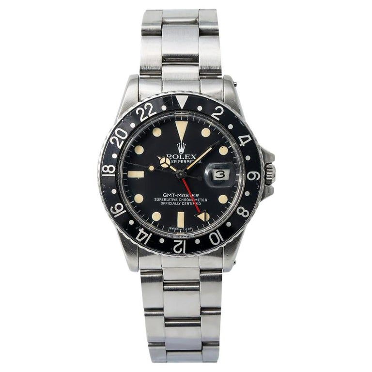 Rolex Gmt Master 16750 Dial Certified Warranty Contemporary
