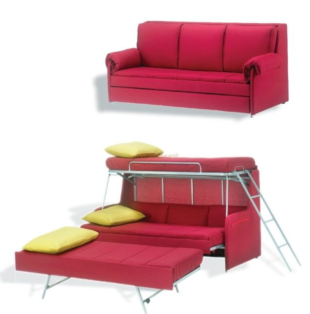 Bunk Bed Designs Beds, Turn A Sofa Into A Bed