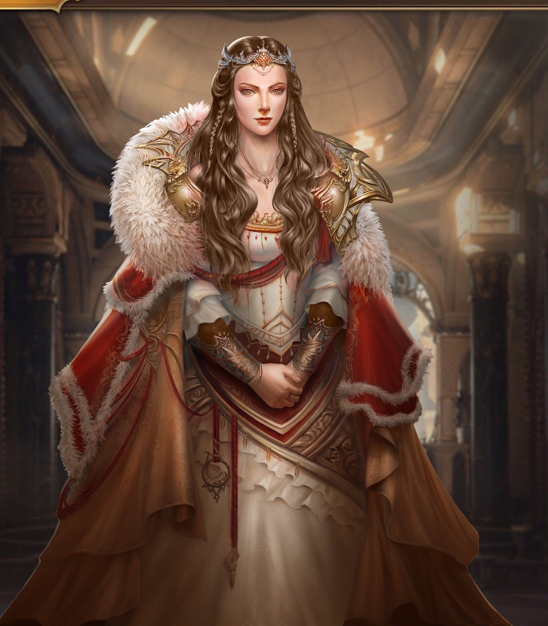 Medieval Fantasy Princess Art