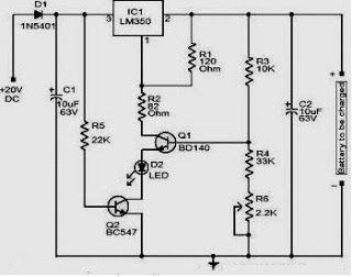 Pin on Charger Circuit