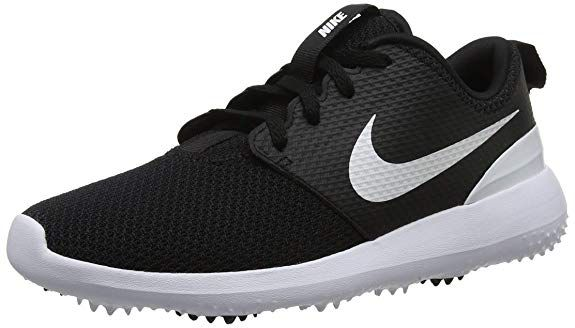 best service 2d074 0a29f These leather and mesh womens roshe g golf shoes by Nike feature a pressure  mapped outsole for excellent traction!