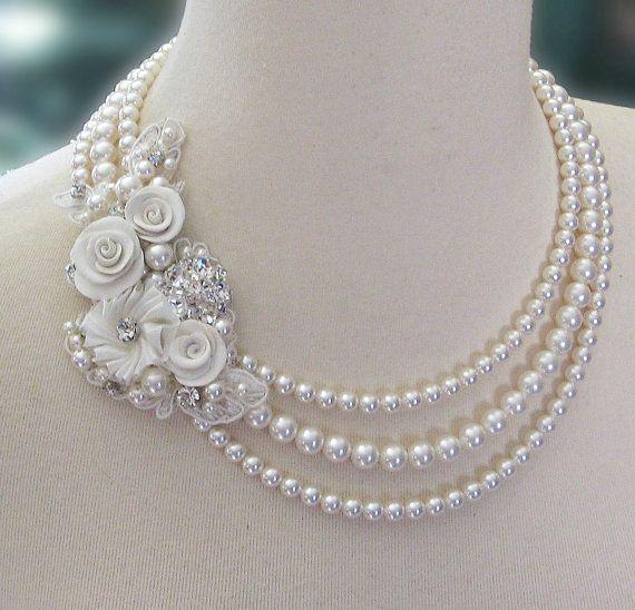 collier de perle joaillerie