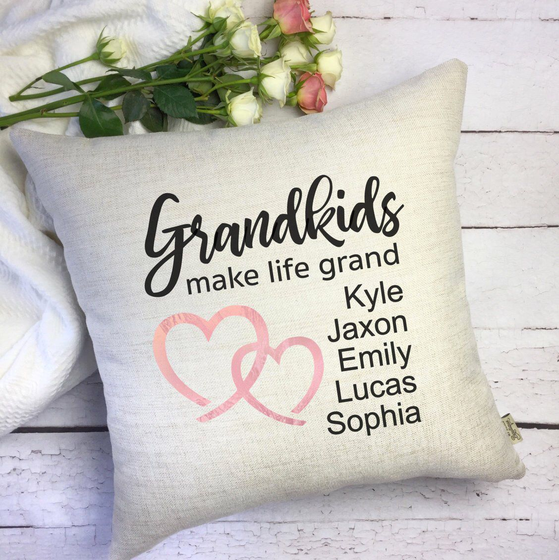 Park Art|My WordPress Blog_Grandkids Make Life Grand Pillow