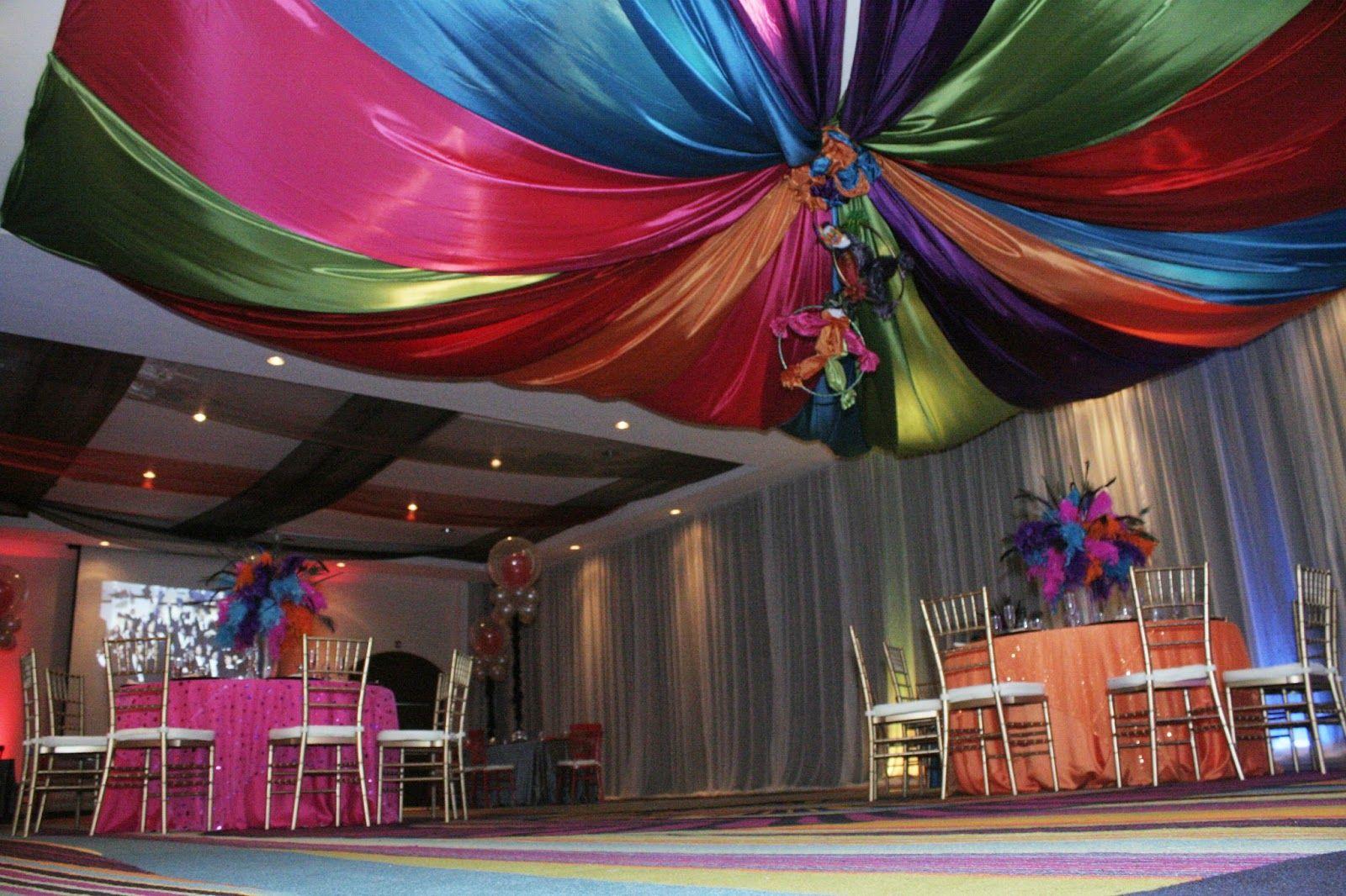 Nuevos decoracion con telas para fiestas una gran opcion for Decoracion con telas