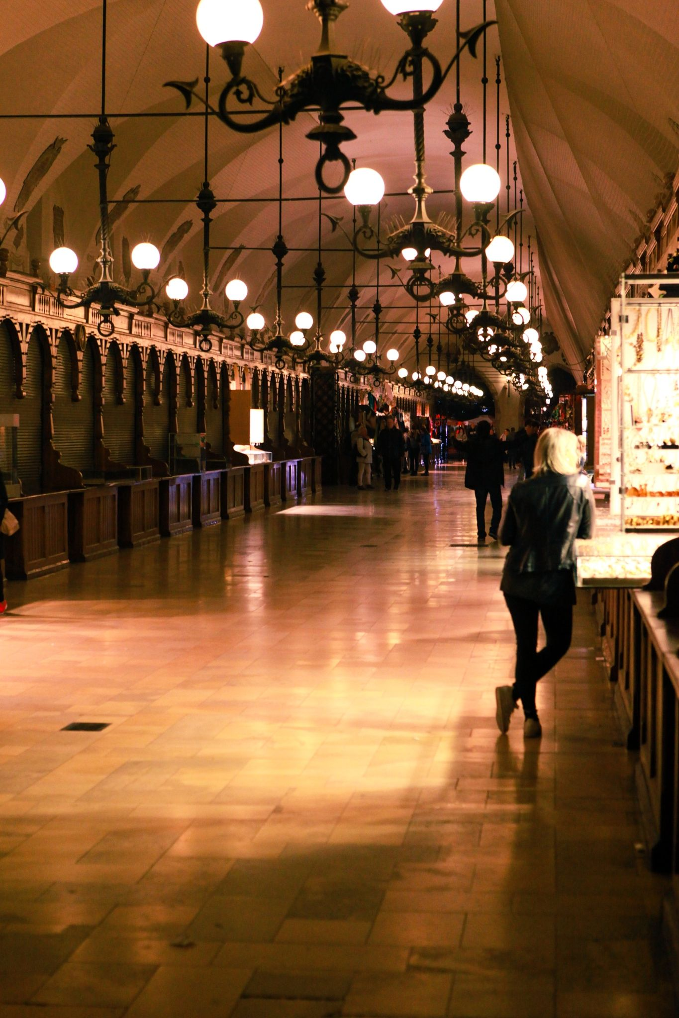 The Cloth Hall - Renaissance-style market arcade with 13th-century origins & a 19th-century Polish art museum.