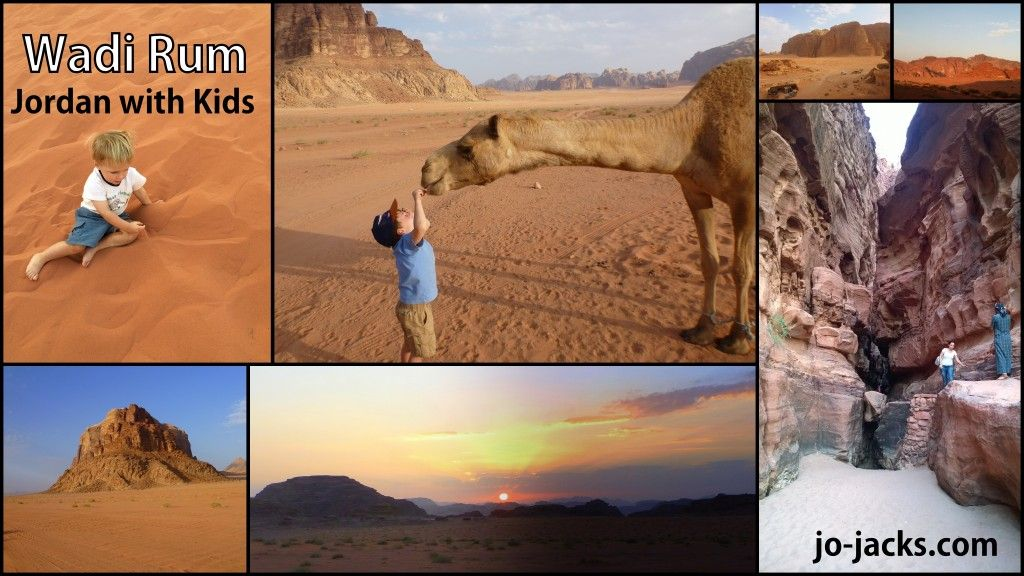 Camping in Wadi Rum for families. Awesome desert experience in Jordan. See how we did it with a baby and young boys. #wadirum