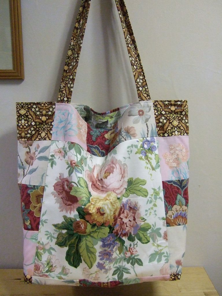 3a15b01cd3e Blooming Marvellous tote | Flickr - Photo Sharing! Stoffen Handtassen, Tote  Portmonnai, Handgemaakte