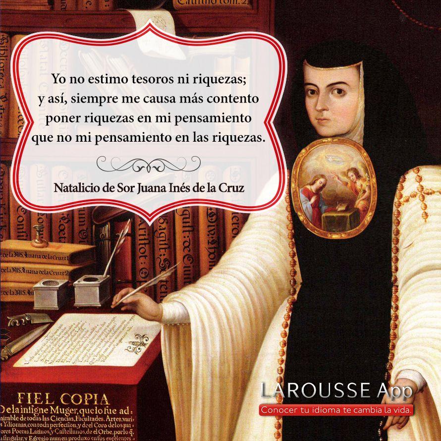 Sor Juana Inés de la Cruz | Caza de citas Larousse ...