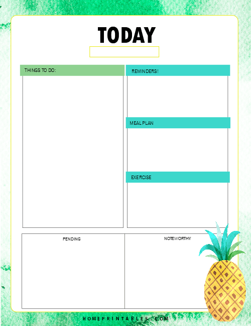 Free Printable 2019 Planner 30 Amazing Life Organizers Bullet