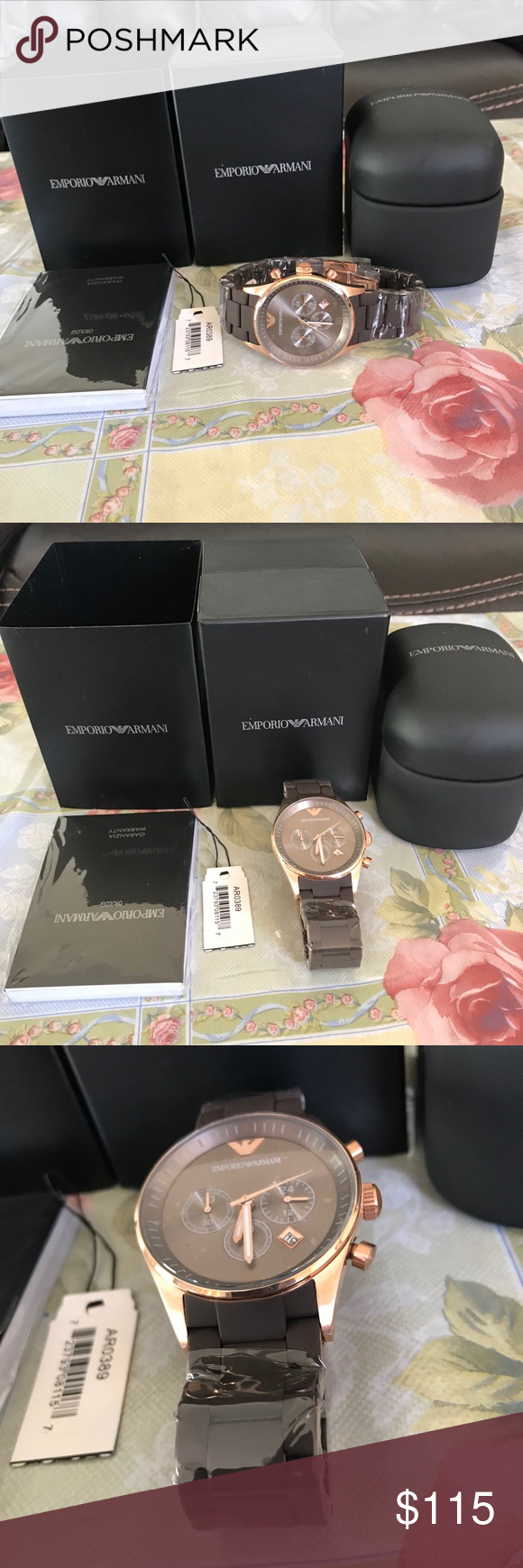 440bd53e1c0b Brand new Emporio Armani watch with og box I m selling a brand new Emporio