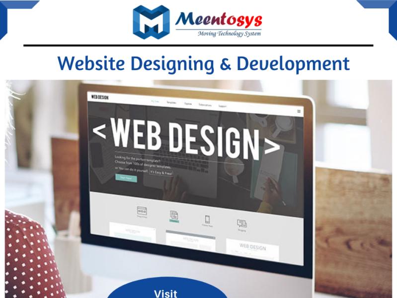 Best Website Designing Development Company In Delhi India By Meentosys Pvt Ltd Website Design Web Design Design