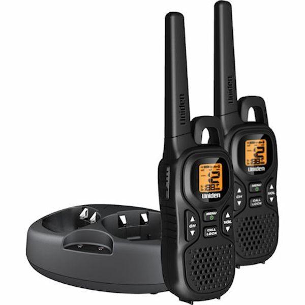 26 mile range 121 privacy codes 10 call tones headset jack vox rh pinterest com Uniden VHF Radio Parts Uniden Marine 380 Radio