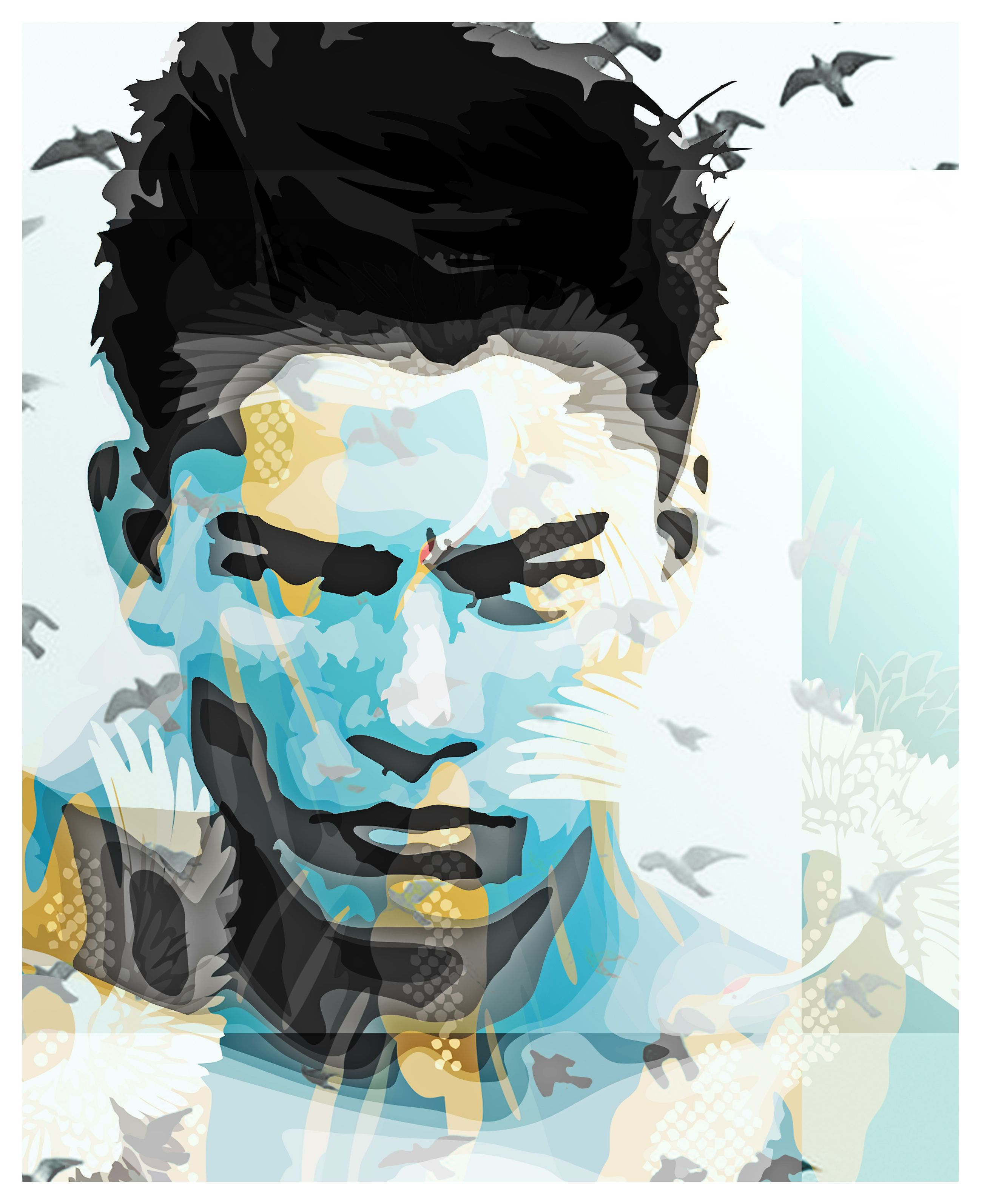 Vector, vector art, collage, collage art. HOPEZ. Art was made in ...